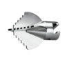 ROTHENBERGER 16mm Çapraz-bıçak kesici, tırtıklı D = 25mm